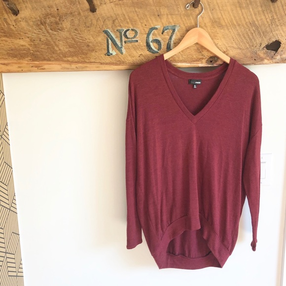 Wilfred free divinette v neck sweater